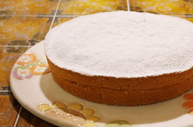 Foto torta paradiso con marmellata