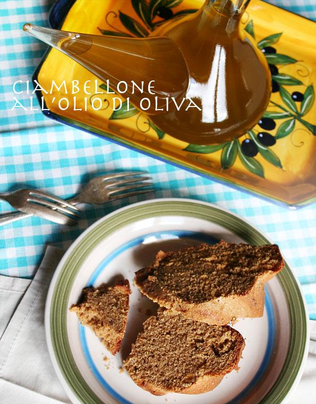 Ciambellone all'olio di oliva