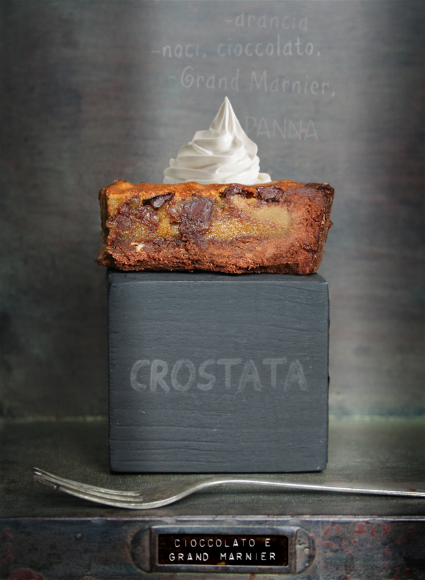 Crostata Cioccolato e Grand Marnier