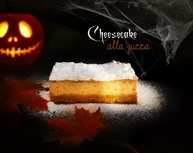 Foto cheesecake alla zucca