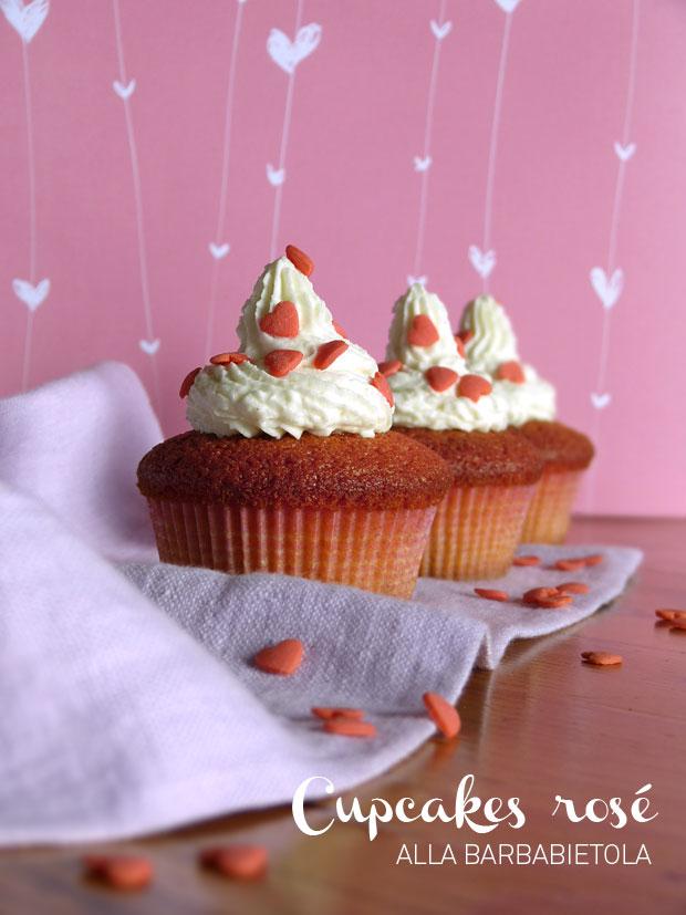 Cupcakes rosé alla barbabietola